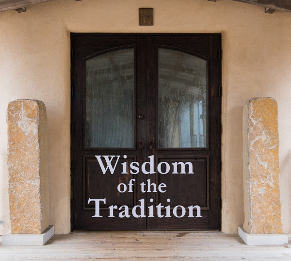 Wisdom of the Tradition zoom link